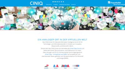 CINIQ Website 2015